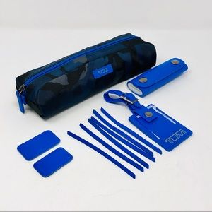 Tumi Alpha Leather & Nylon Accents Kit -Blue Camo